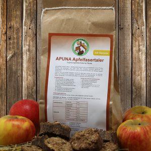 APUNA Apfelfasertaler mit Banane