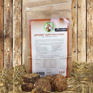 APUNA Apfelfasertaler mit Schwarzkümmel